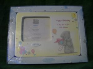 Me To You Tatty Teddy Med photo frame Happy birthday..birthdays..